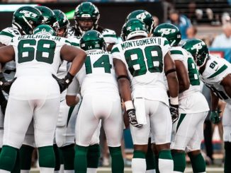 New York Jets Huddle