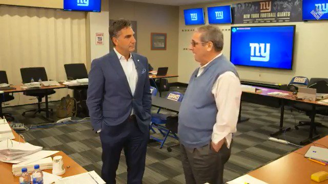 New York Giants draft gettleman