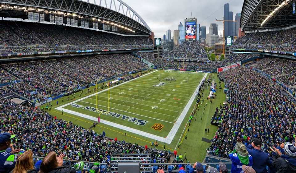 New York Giants Schedule century link field