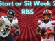 Start and Sit RBS