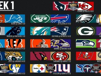 Week 1 Game Picks