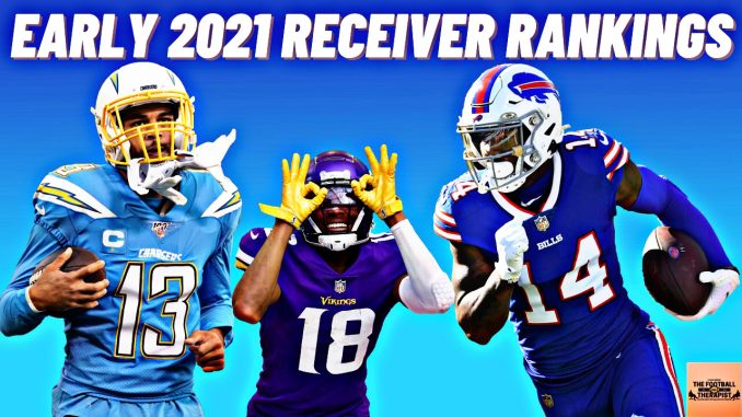 Early 2021 Wide Receiver Rankings