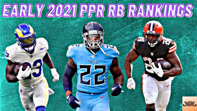 Early 2021 Running Back Rankings
