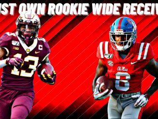 Two Must Own Rookie Receivers