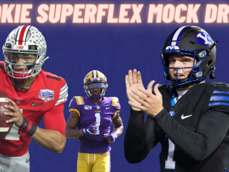 Superflex Rookie Mock Draft